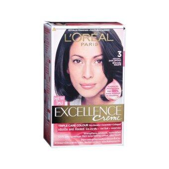 Harga EXCELLENCE Loreal Excellence Natural Dark Brown 1PC