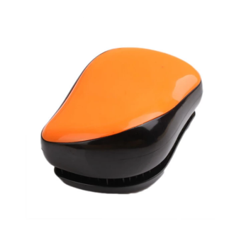 Harga Magic Comb Compact Styler Hair Brush Salon Style (Orange)
