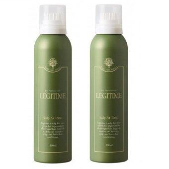 Harga LEGITIME SCALP AIR TONIC x 2BOTTLE 200ML (For West Malaysia Only)