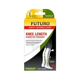 Harga FUTURO Anti-Embolism Knee Length Stockings Size (M)