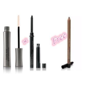 Harga (Promotion) Mary Kay Lash Love waterproof Mascara + Eyeliner FREE Eyebrow pencil