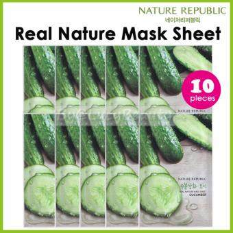 Harga Nature Republic Real Nature Mask Sheet CUCUMBER 10pieces