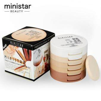 Harga MINISTAR 5 Color Concealing Shading Powder Kit