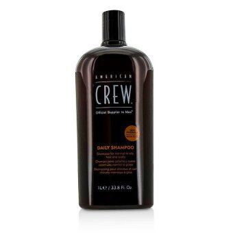 Harga American Crew Men Daily Shampoo (For Normal to Oily Hair and Scalp) 1000ml/33.8oz