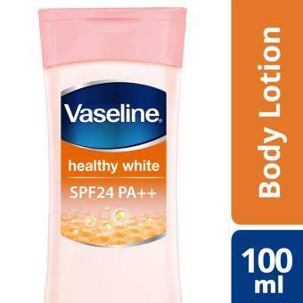Harga Vaseline Healthy White Body Lotion SPF 24 100 ml