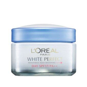 Harga L'OREAL L'Oreal White Perfect Cream SPF17 50ML