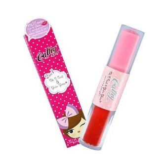 Harga Cathy Doll 2 in 1 Vit C Tint 3.4g & Gluta Gloss 2.8g -Milky Pink & Red