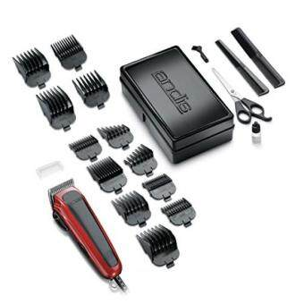 Harga Andis Easy Cut 20-Piece Haircutting Kit, Red/Black (75360)