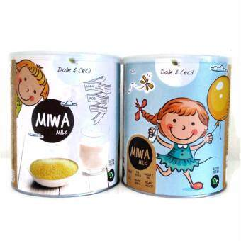 Harga Twin Pack - MIWA Milk-700g X 2 -(Gluten Free & Lactose Free)-New Stock , Expired 2019