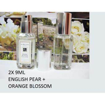 Harga Jo Malone English Pear & Orange Blossom Cologne London (9ml x 2) [Original]