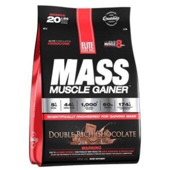 Harga Elite Labs USA - Mass Muscle Gainer - 20 lbs (9.07 kgs)