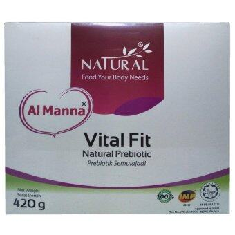 Harga Natural Al Manna Vital Fit Natural Prebiotic 420gm