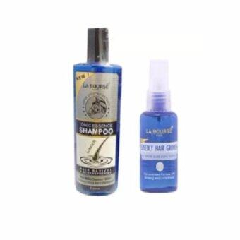 Harga La Bourse Tonic Essence Shampoo 300ml & La Bourse Speedy Hair Nourishing Tonic Essence 45ml