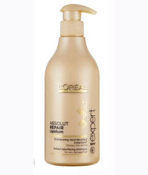 Harga Loreal Absolut Repair Lipidium Shampoo (500ml)
