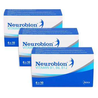 Harga Neurobion Vitamin B1, B6, B12 60's (Triple Pack)