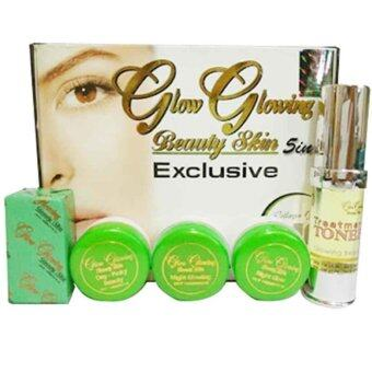 Harga (Original) Dara Anggun GLOW GLOWING 5 in 1 EXCLUSIVE Set Skincare