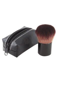 Harga Moonar Professional Mushroom Blush Loose Power Make Up Brush + Case