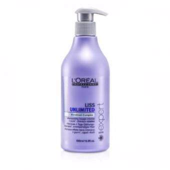 Harga Loreal Professional Liss Unlimited Shampoo 500ml