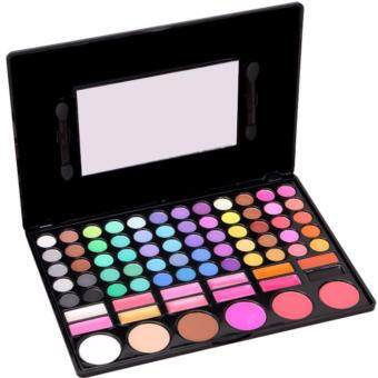 Harga OS Professional 78 Colour Eyeshadows Blush Lipsticks Make Up Palette