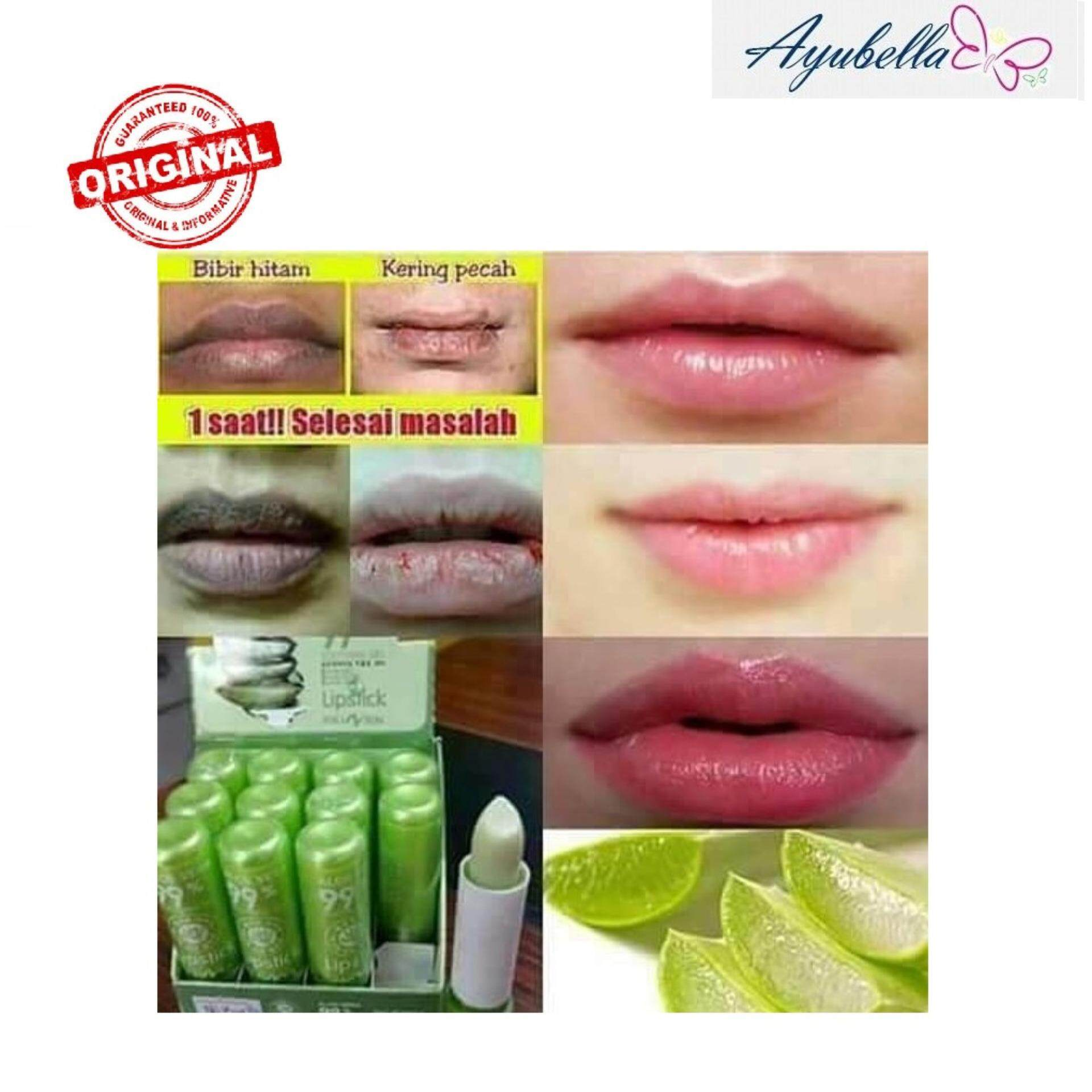Kiss Beauty 99% Aloe Vera Soothing Gel Moisturizing Lipsitck 3.5g x 2