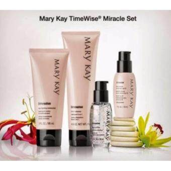 Harga Mary Kay TimeWise Miracle Set ~ Normal/Dry, (cleanser, moisturizer, day solution & night solution)100% Authentic