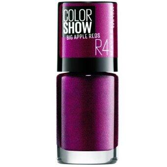 Harga Maybelline Color Show Nail Big Apple Nail Polish Red [Juicy]