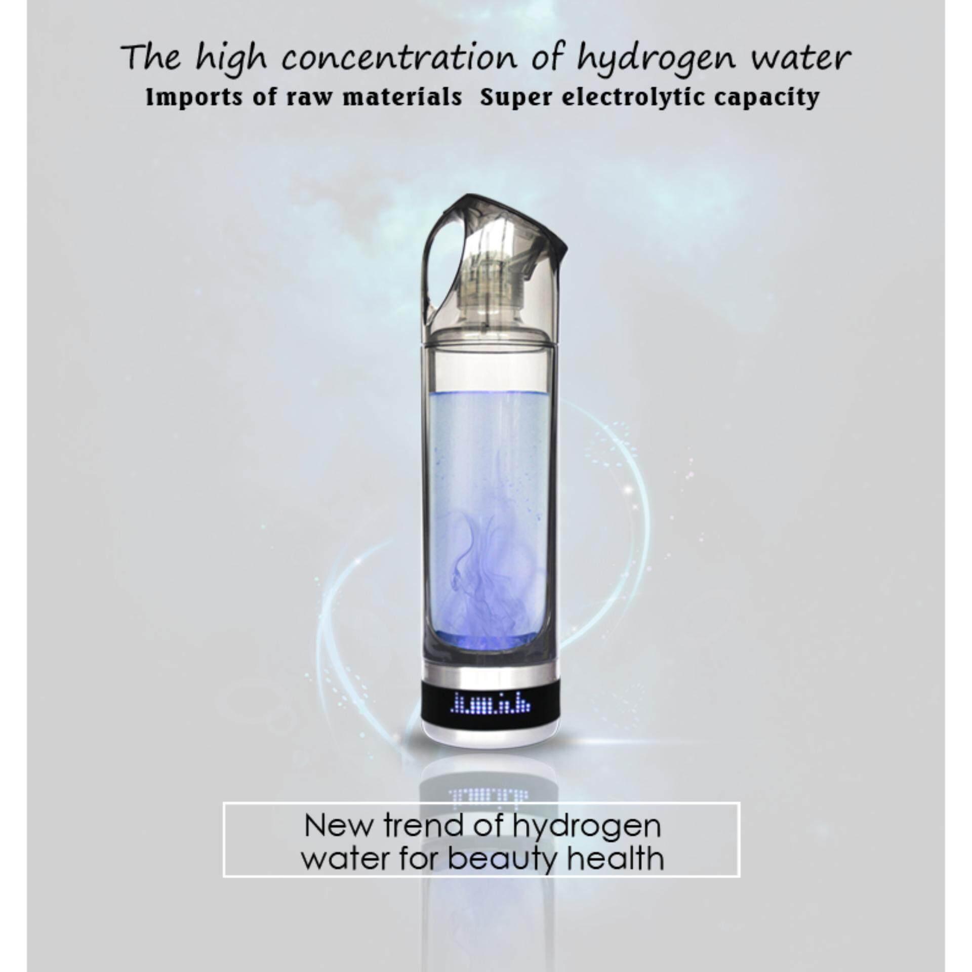 Portable Hydrogen  Water Maker Bottle  3 minutes