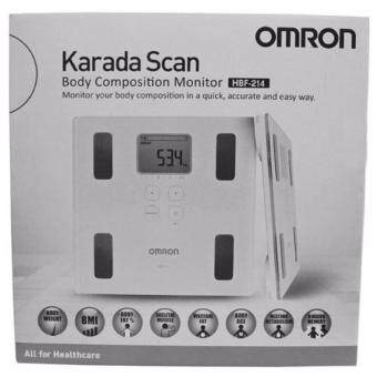 Omron HBF-214 Body Composition Monitor Scale Body Fat Analyzer