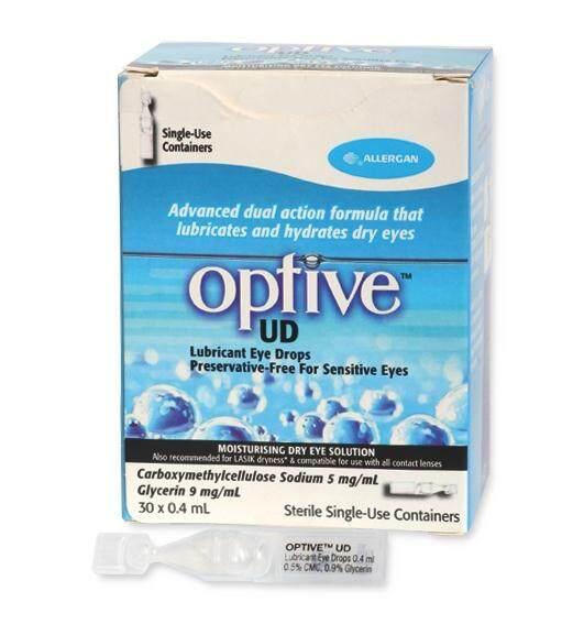 Optive UD Eye Drops - Artificial Eye Drop