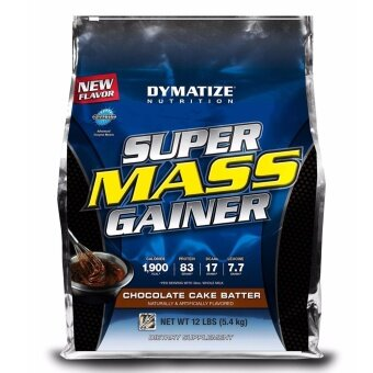 [ORIGINAL] DYMATIZE SUPER MASS GAINER 12 LBS - Muscle Protein Otot Susu Protin Gym Body Building