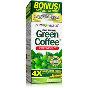 Harga Purely Inspired Green Coffee Purely Inspired 100 Tabs (Garcinia, Lose Weight )