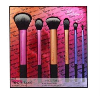 Harga Real Techniques 6 Piece Professional Makeup Cosmetics Brushes SetKit