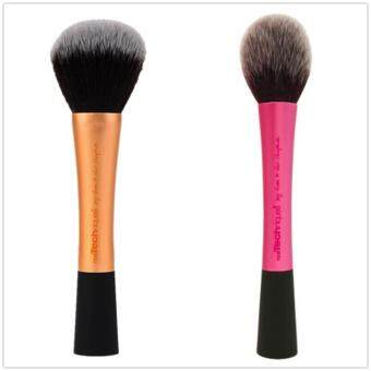 Harga Real Techniques Powder Brush +Blush Brush Cosmetics ToolsCombination Sales