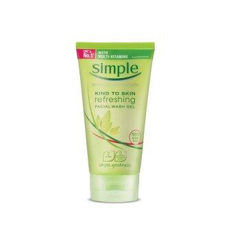 Harga SIMPLE Simple Refreshing Facial Wash Gel 150ML