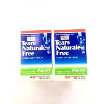 Harga Tears Naturale Free Eye Drops (0.8ml X 32's) x 2 - (Twinpack)