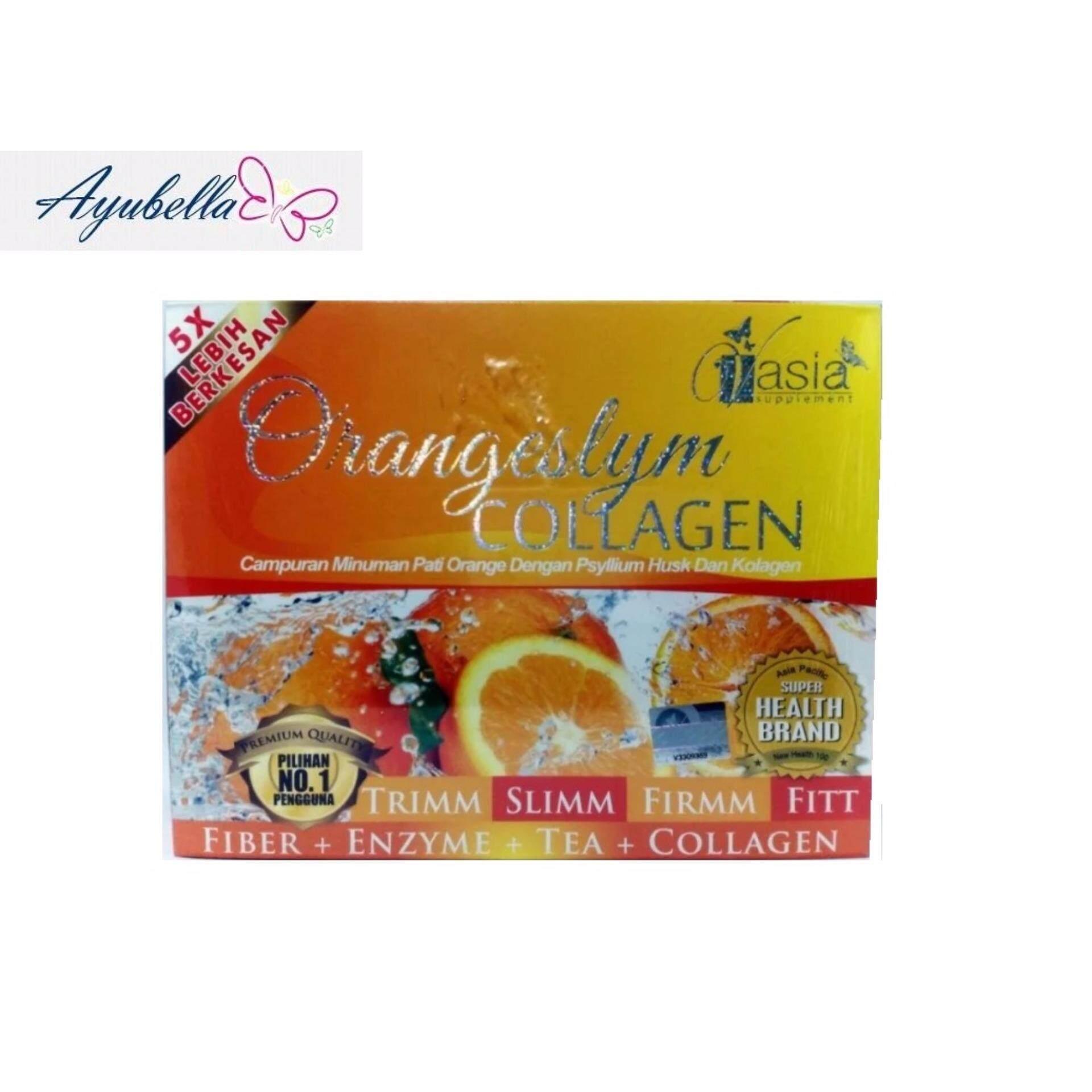 V'Asia Orange Fiber Plus Collagen VAsia Orangeslym x 6