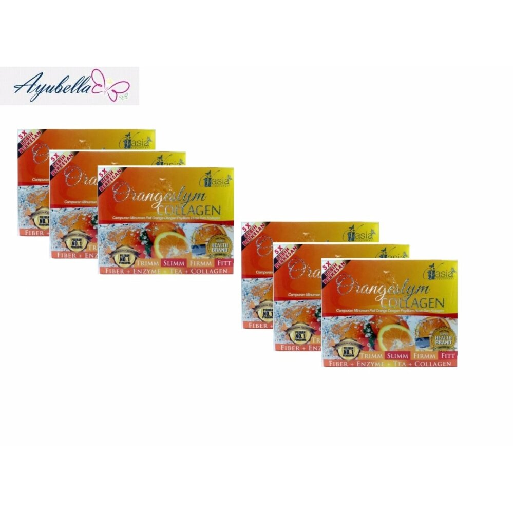 V'Asia Orange Fiber Plus Collagen VAsia Orangeslym x 6