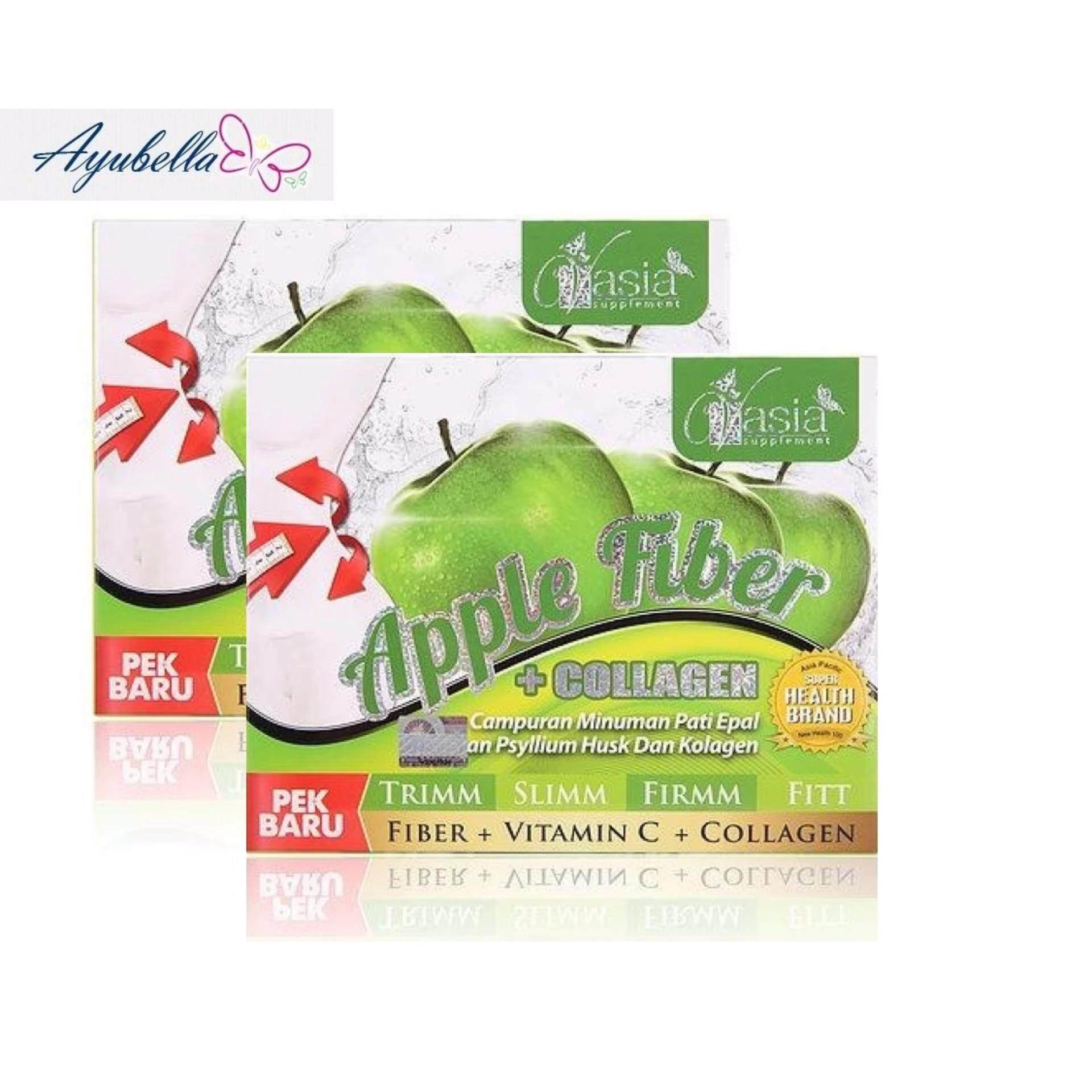 VAsia Apple Fiber Plus Collagen V'Asia Applesym x 2