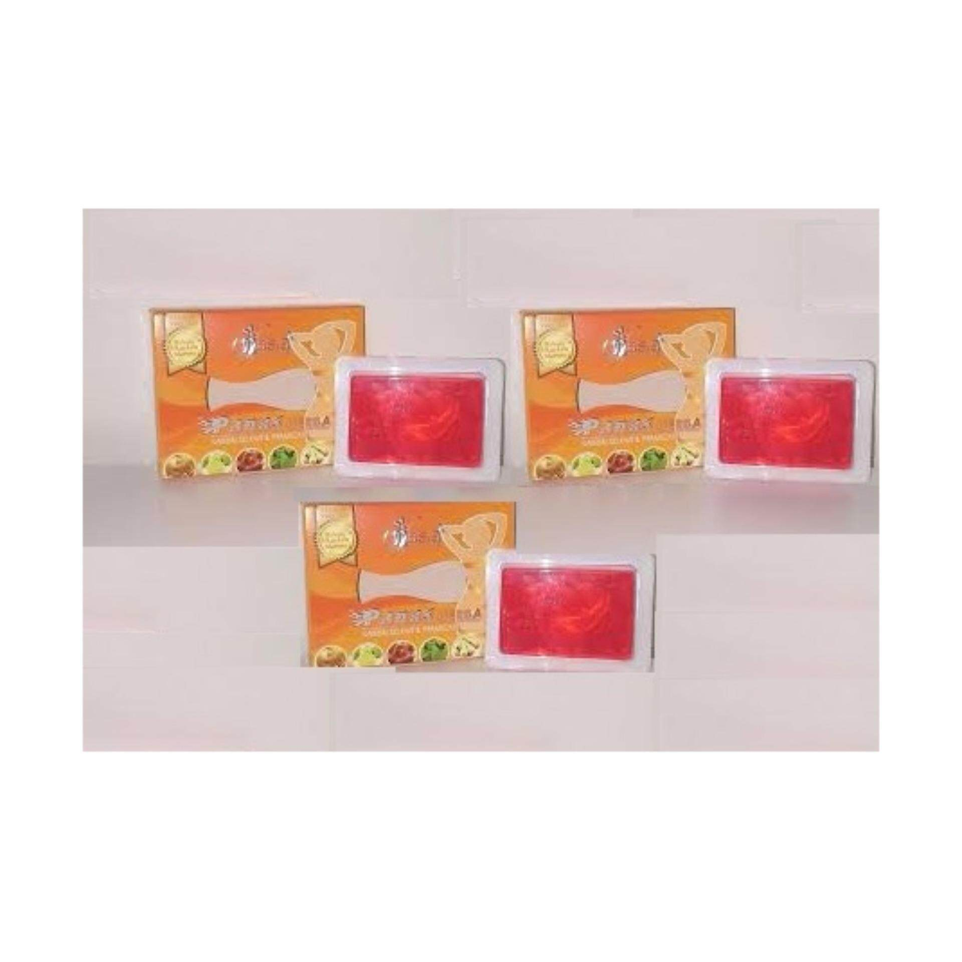 VAsia Hot Herbal Soap V\'Asia Sabun Panas Herba x 3 (Cellulite & Fats Soap)