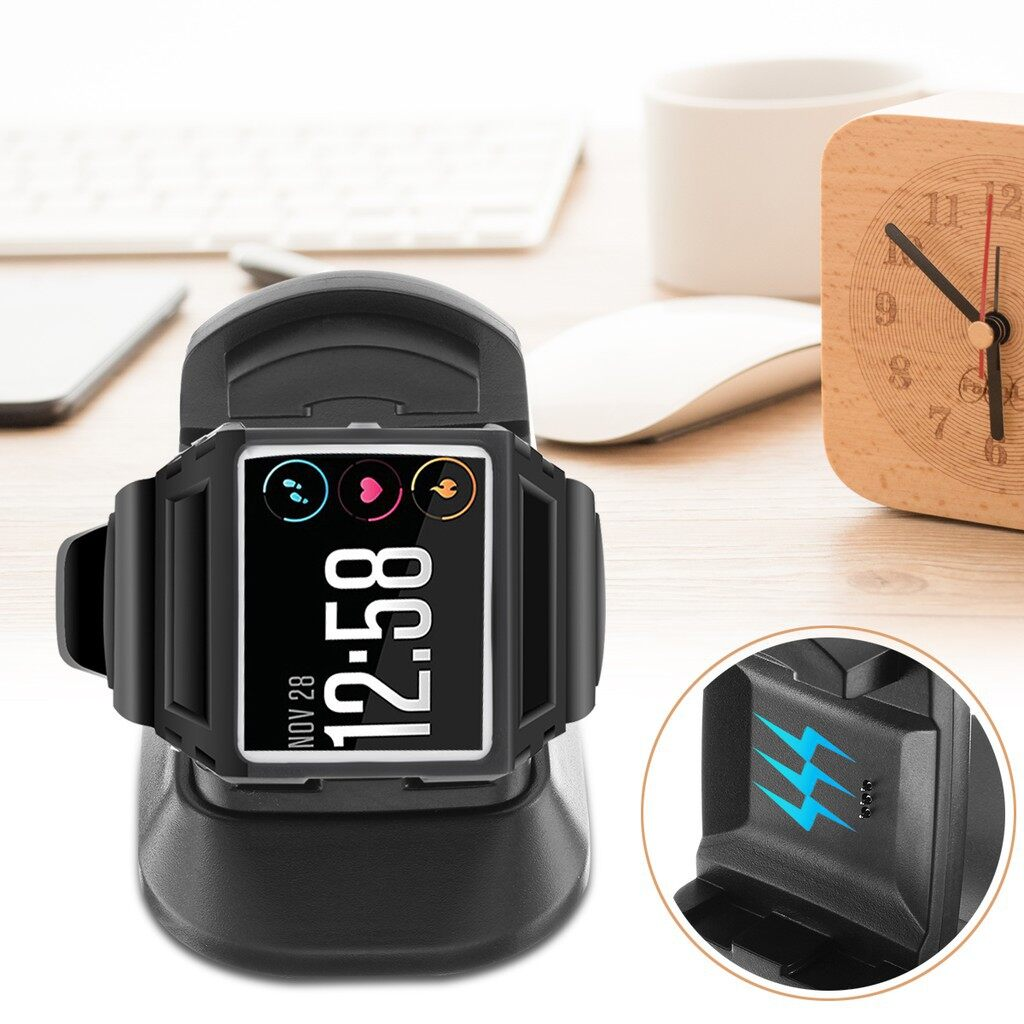 Chargers - Power Charging Dock Cradle Charger Charging Stand for Fitbit Ionic - Cables
