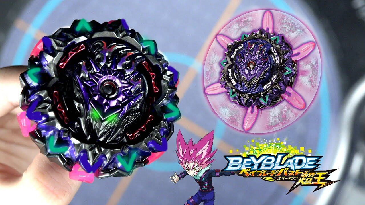 TAKARA TOMY Beyblade Burst Superking Sparking B-169 Starter Variant Lucifer Toys & Games Action Figures & Collectibles Action Figures Spinning Top Toys & Games / Baby & Toddler Toys / Spinning Tops beyblade burst sparking beyblade burst takara tomy