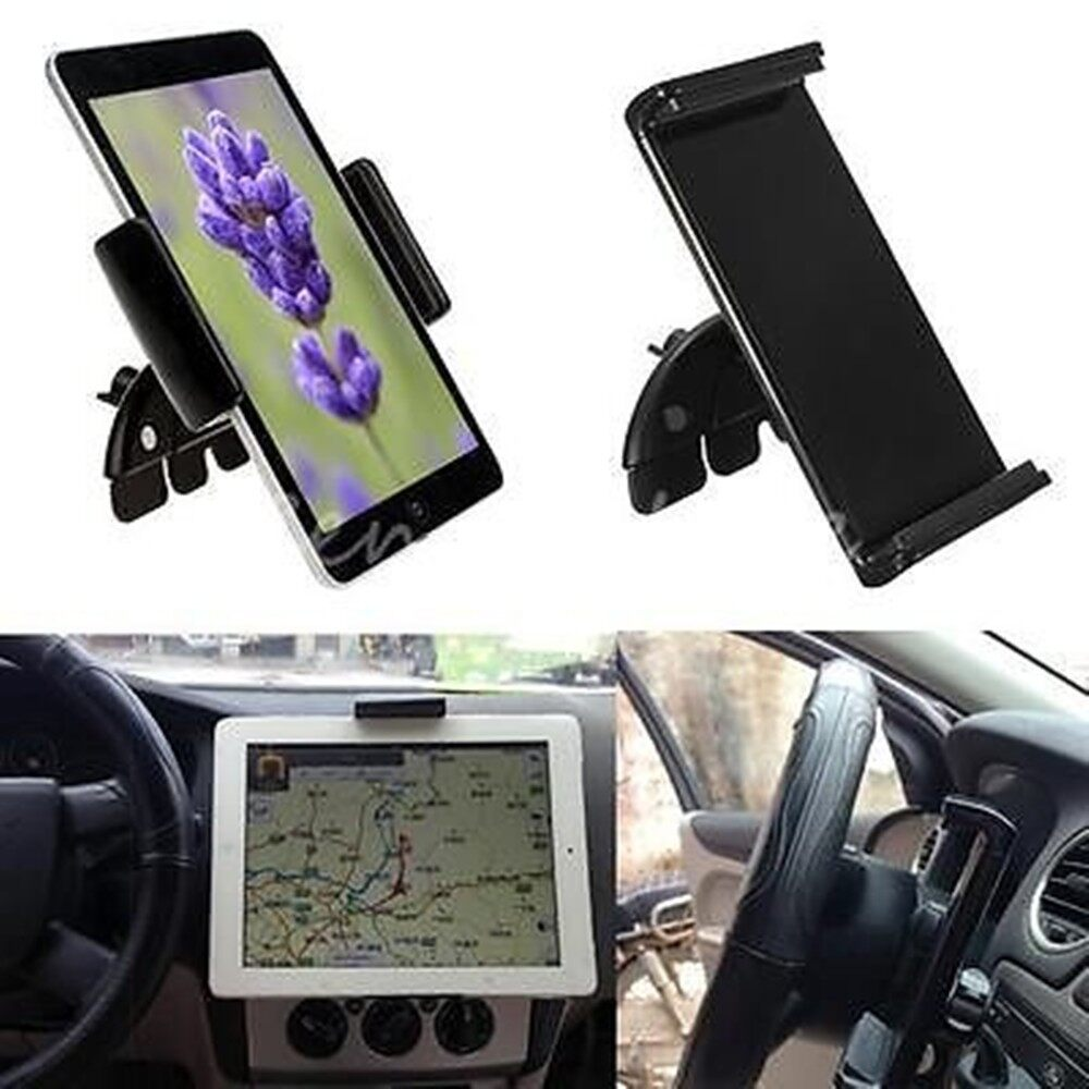 Cool Gadgets - 10'' Universal Car CD Slot Mount Holder For iPad 2 3 4 Air 2 Galaxy Tab 3 4 - Mobile & Accessories