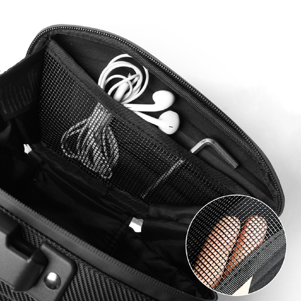 Moto Accessories - Waterproof Cycling MTB Mountain Bike Reflective Seat Tail Rear Pouch Saddle Bag - Motorcycles, Parts
