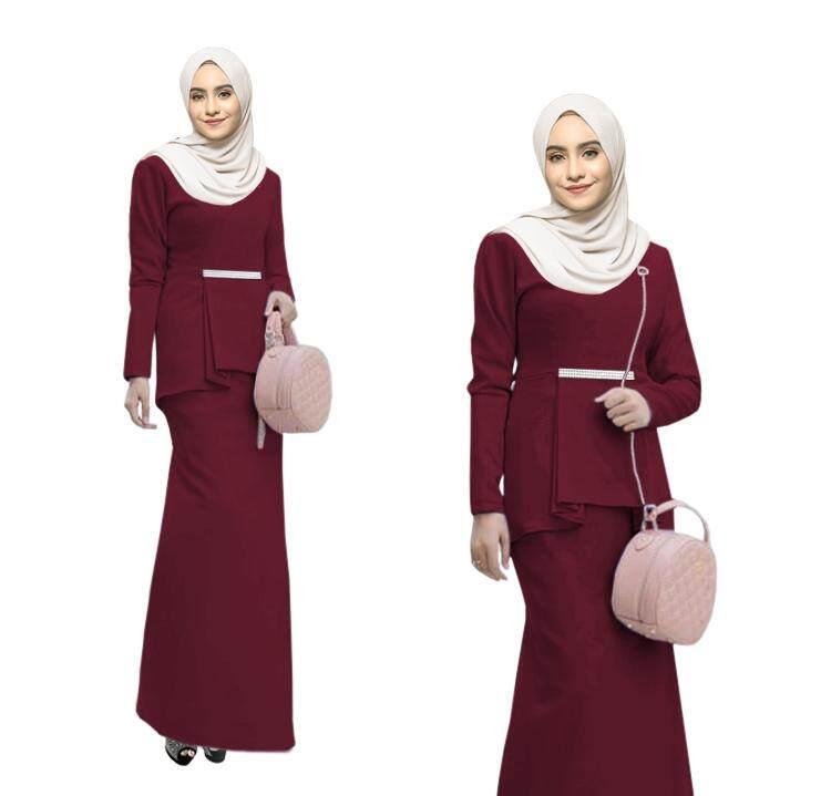 New Collection BEM Baju Kurung Modern with stylish Top Terbaik