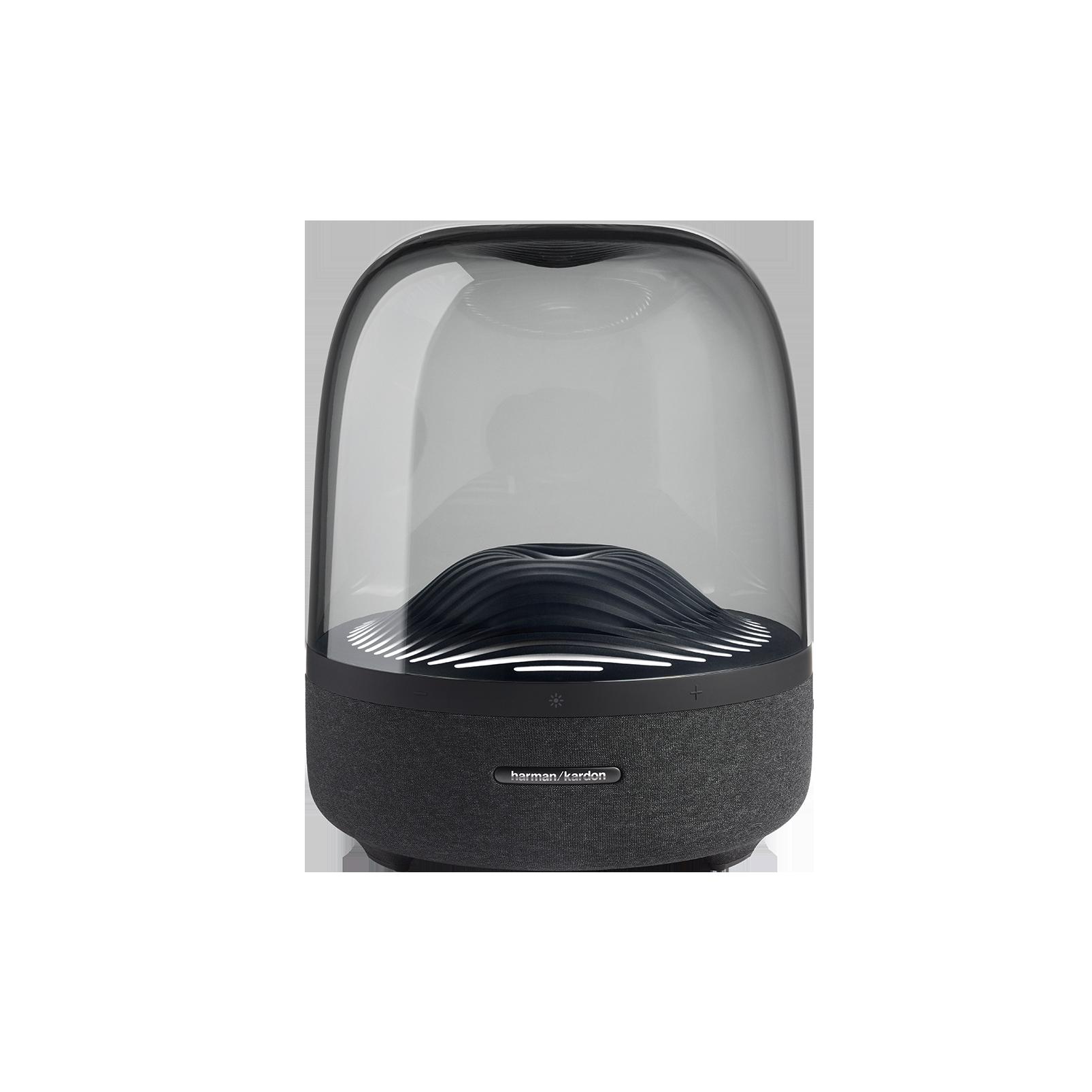 Harman Kardon Bluetooth Speaker Aura Studio 3 with Bluetooth 4.2 Connection 360-Degree Sound Ambient Light