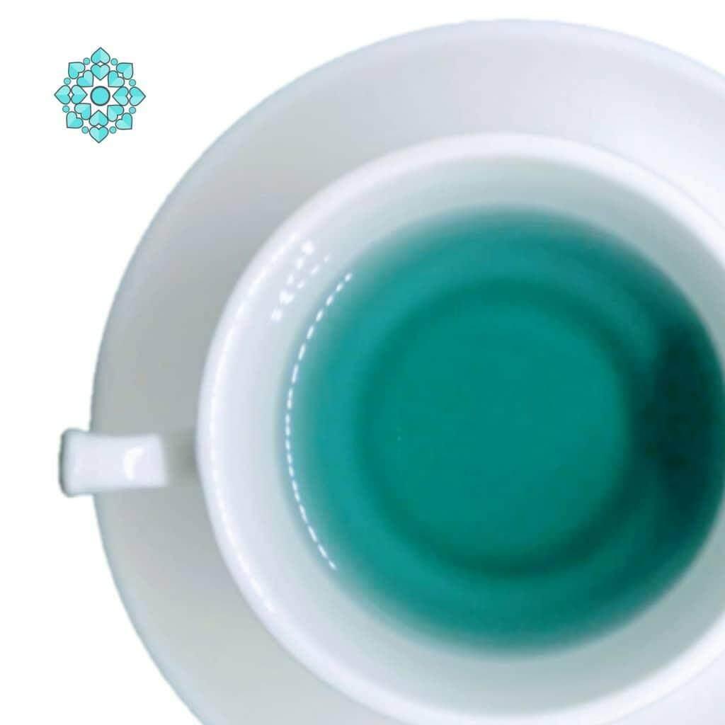 READY STOCK !! Natural Colorful Uncang Tea - Blue Mint (Peppermint Tea) Souvenir