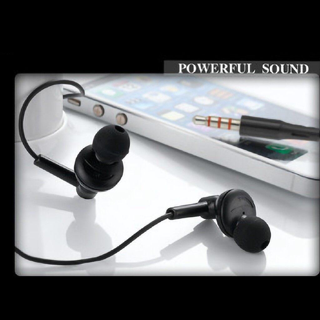 On-Ear Headphones - In-ear Universal Earphone Bass Headphone Music For iPh6/6s/Huawei Phone - WHITE / BLACK