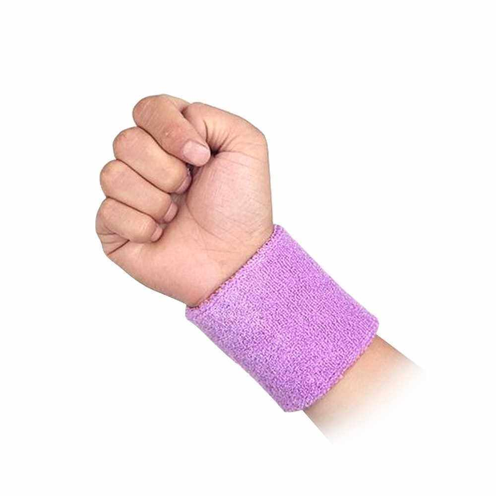 Wrist Support Sportive Wrist Band Brace Wrist Wrap for Adults Sport Outdoor Activities Portable (Purple)