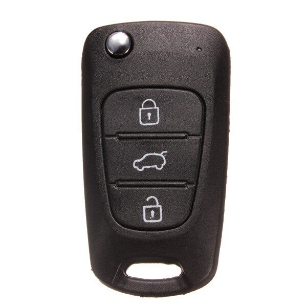 Car Accessories - Remote Key Case Fob Shell Uncut Blade For HYUNDAI - Automotive