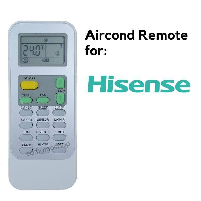 Hisense Aircond remote control DG11J1-03 DG11J1-16 air conditioner
